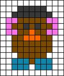 Alpha pattern #45475