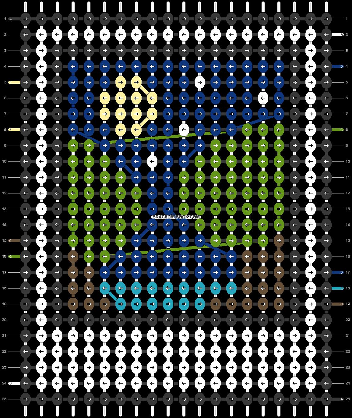 Alpha pattern #45476 pattern