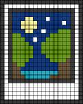 Alpha pattern #45476