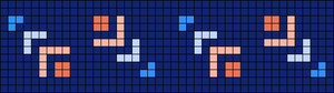 Alpha pattern #45491