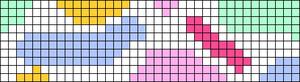 Alpha pattern #45498