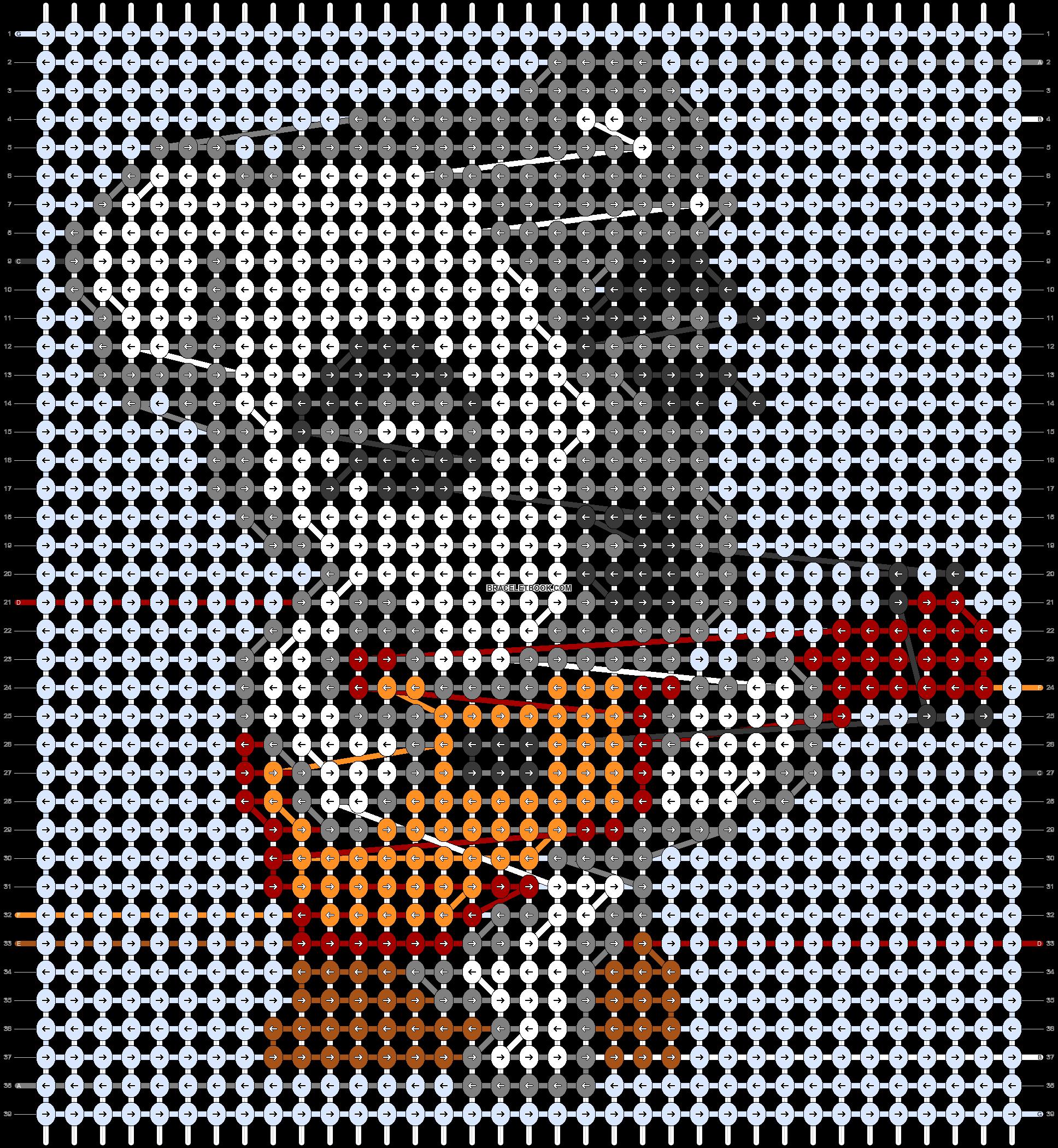 Alpha pattern #45506 pattern