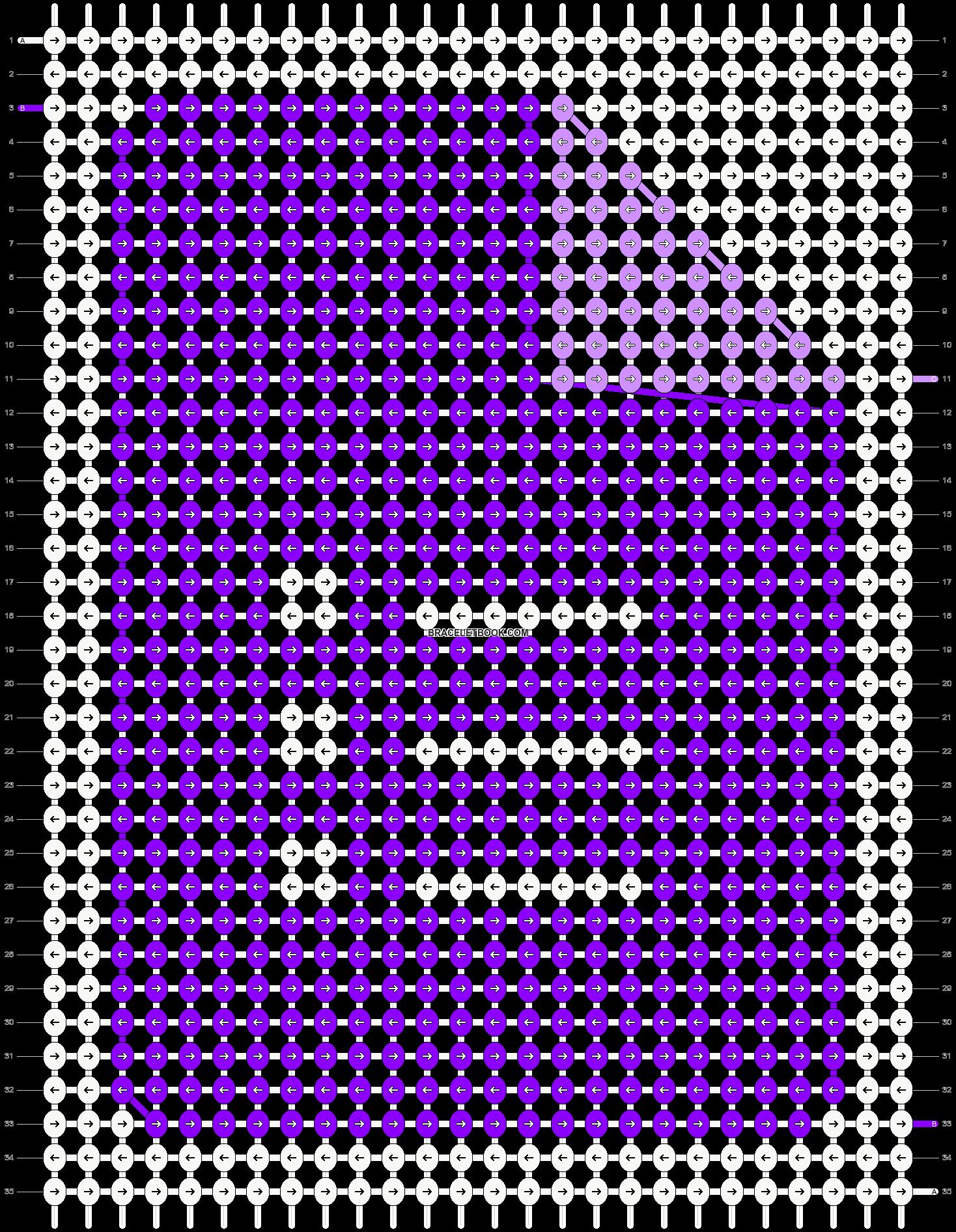 Alpha pattern #45529 pattern
