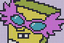 Alpha pattern #45531