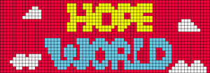 Alpha pattern #45550