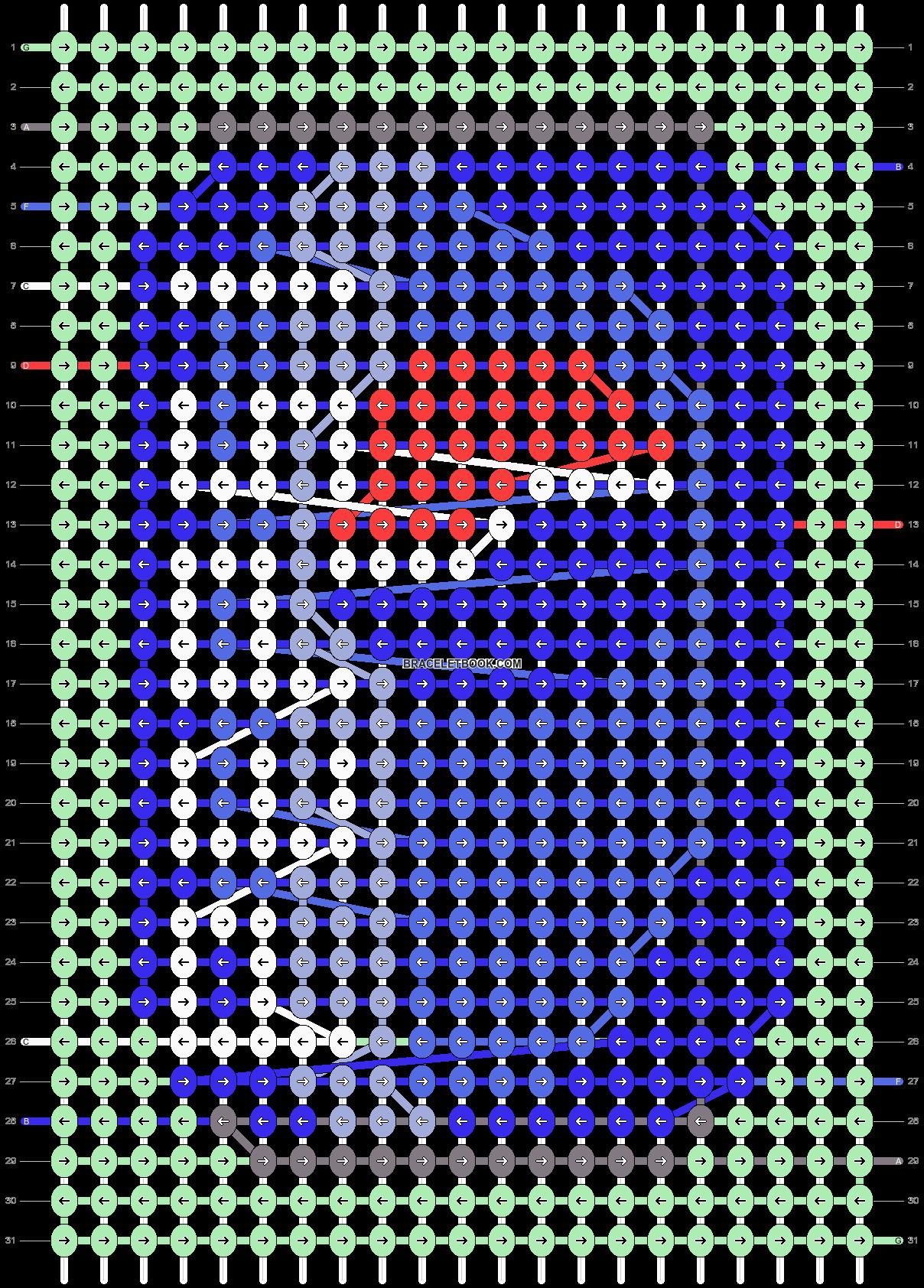 Alpha pattern #45563 pattern