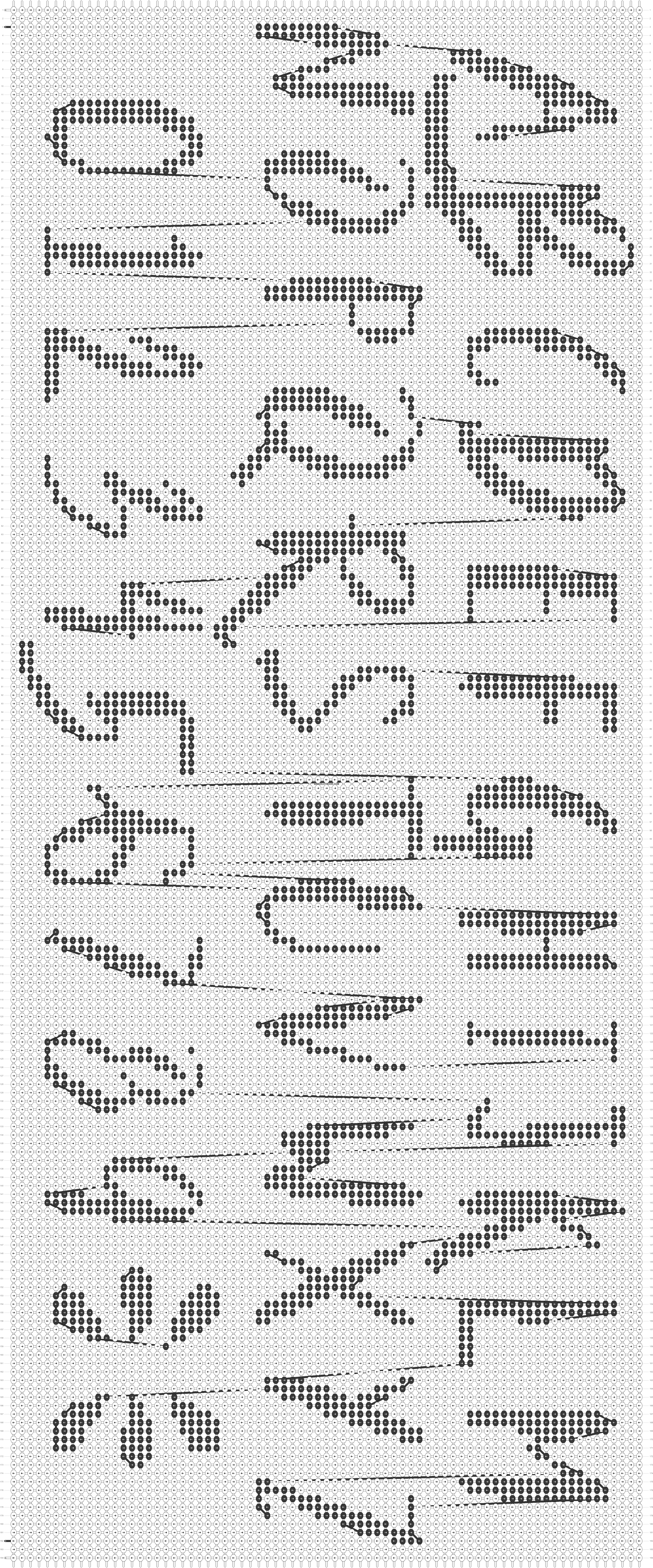 Alpha pattern #45588 pattern