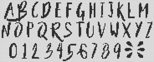 Alpha pattern #45588