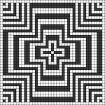 Alpha pattern #45628