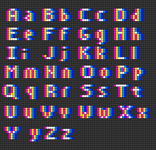 Alpha pattern #45630