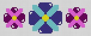 Alpha pattern #45634