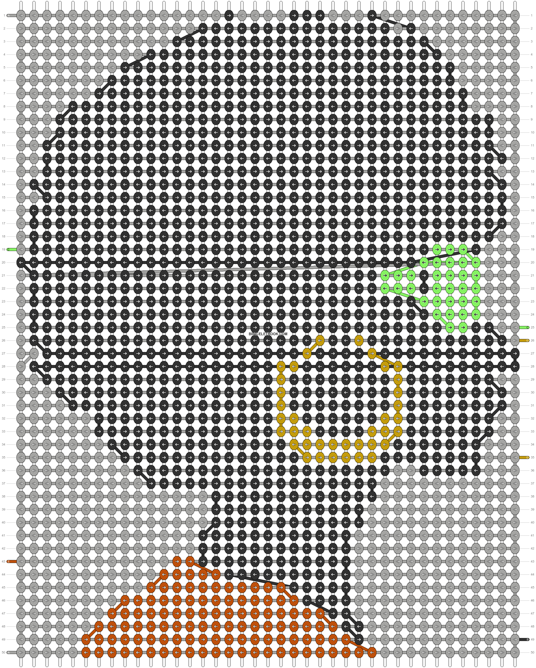 Alpha pattern #45639 pattern