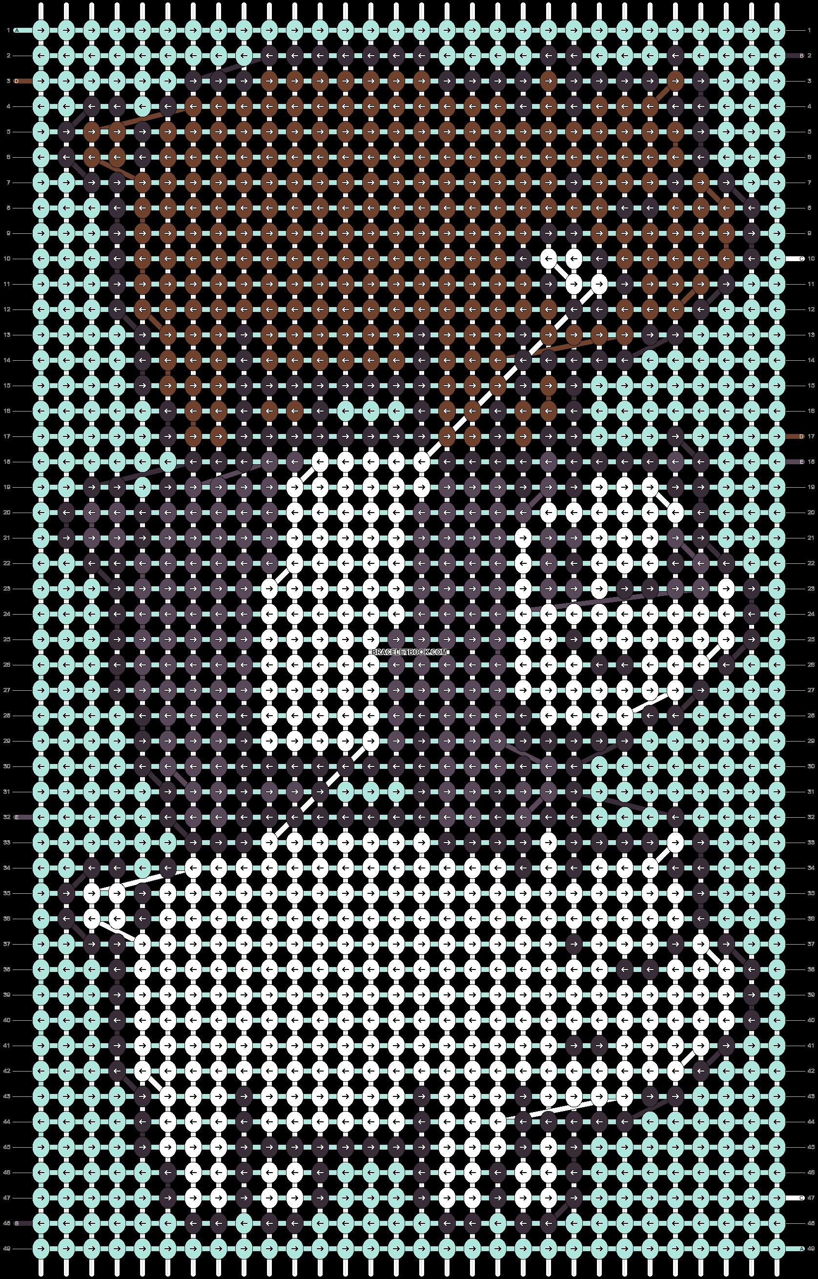 Alpha pattern #45643 pattern