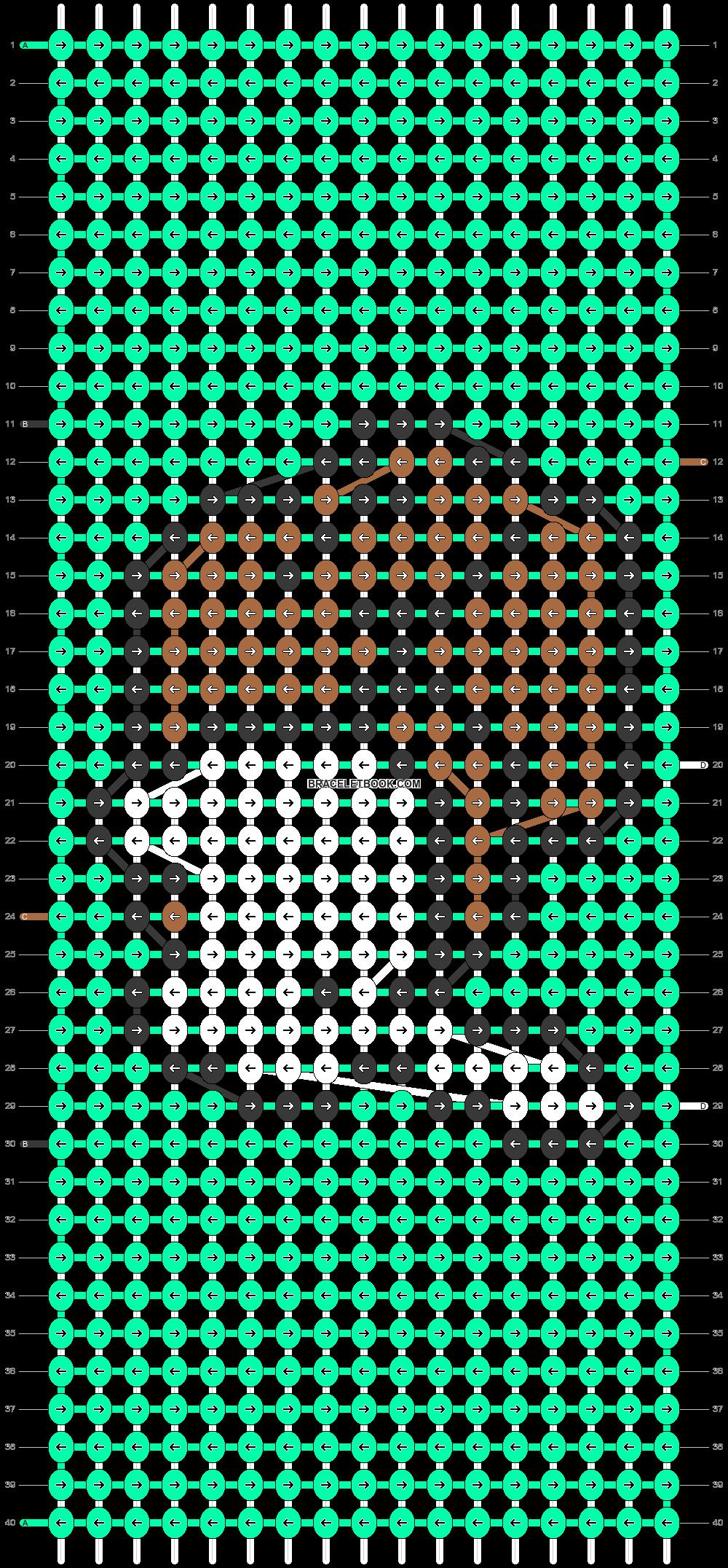 Alpha pattern #45644 pattern