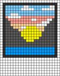 Alpha pattern #45649