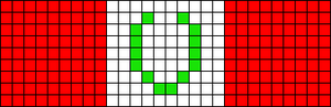 Alpha pattern #45651