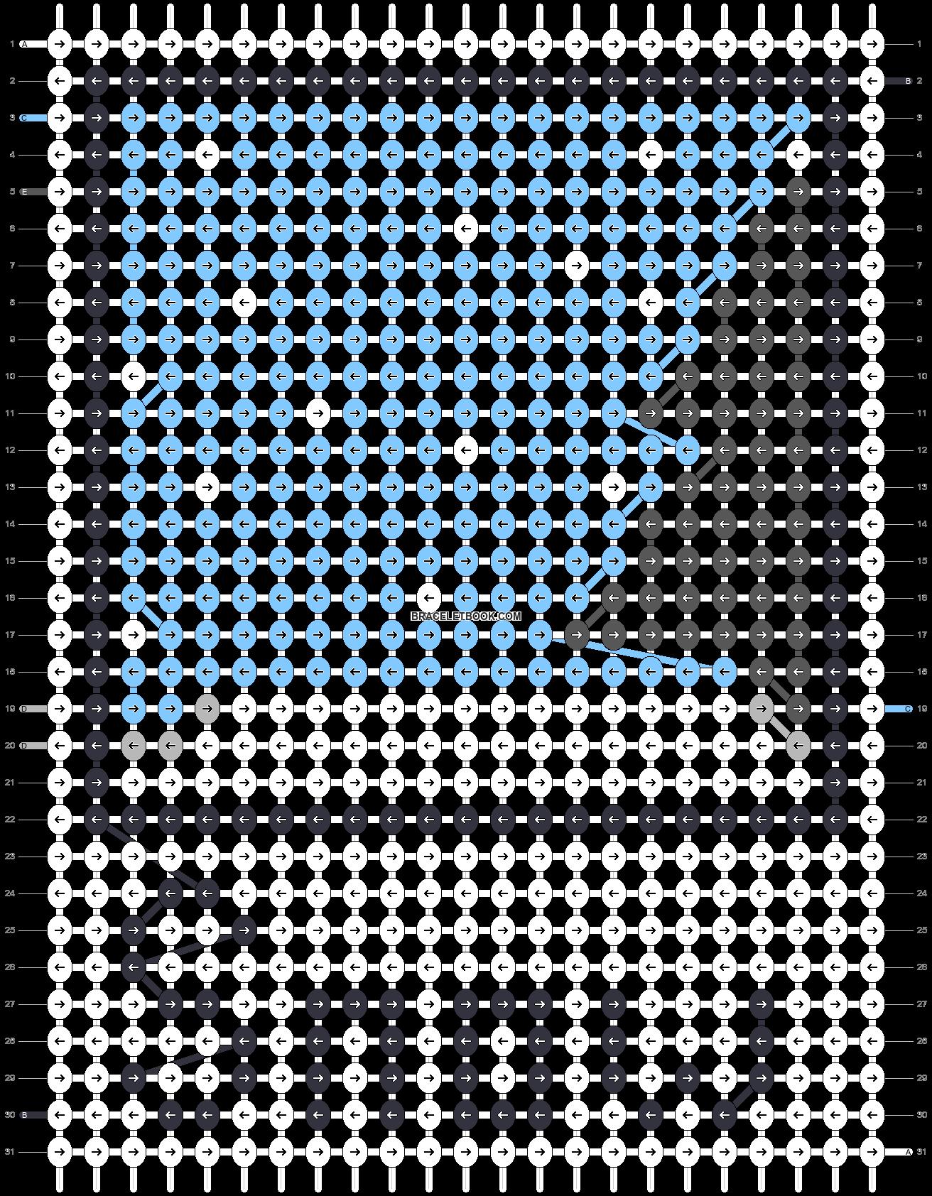 Alpha pattern #45653 pattern
