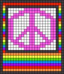 Alpha pattern #45656