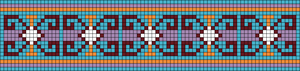 Alpha pattern #45657