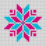 Alpha pattern #45674