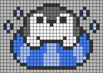 Alpha pattern #45676