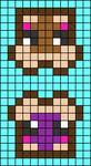 Alpha pattern #45680
