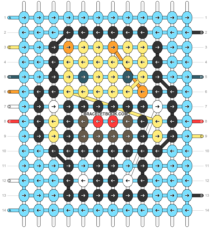 Alpha pattern #45688 pattern