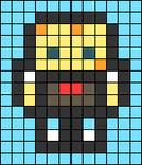 Alpha pattern #45688