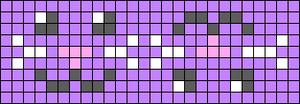 Alpha pattern #45691