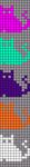 Alpha pattern #45694
