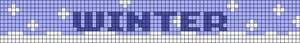 Alpha pattern #45695