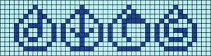 Alpha pattern #45704