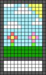 Alpha pattern #45713