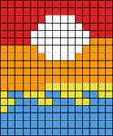 Alpha pattern #45725