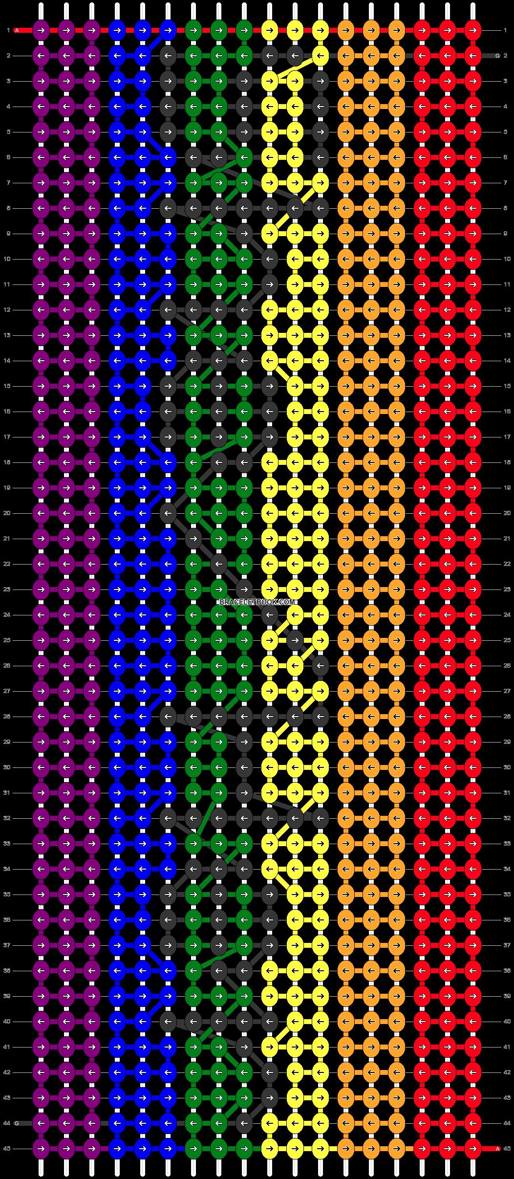 Alpha pattern #45734 pattern