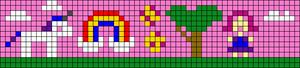 Alpha pattern #45740