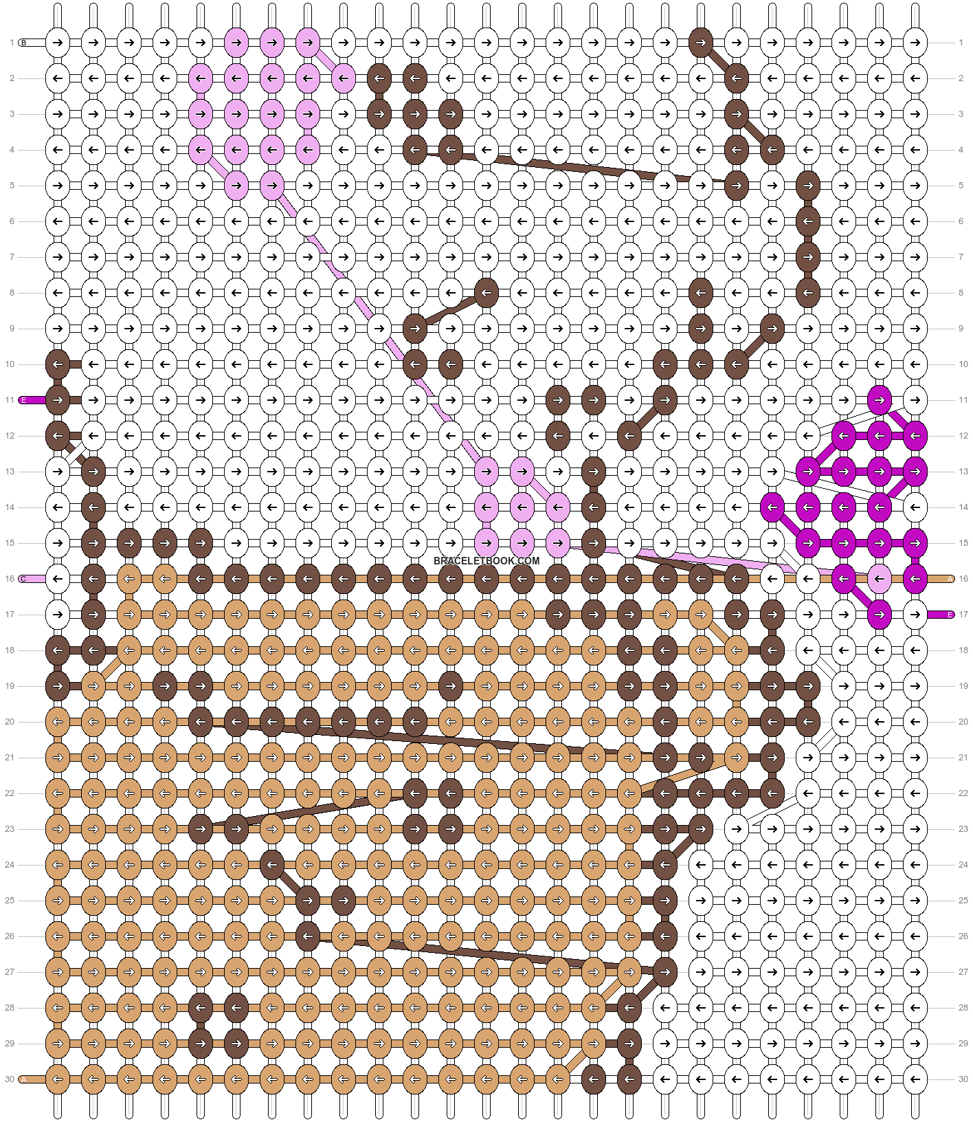 Alpha pattern #45754 pattern
