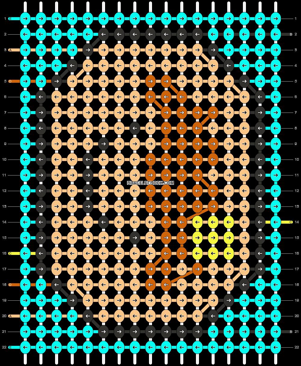 Alpha pattern #45769 pattern