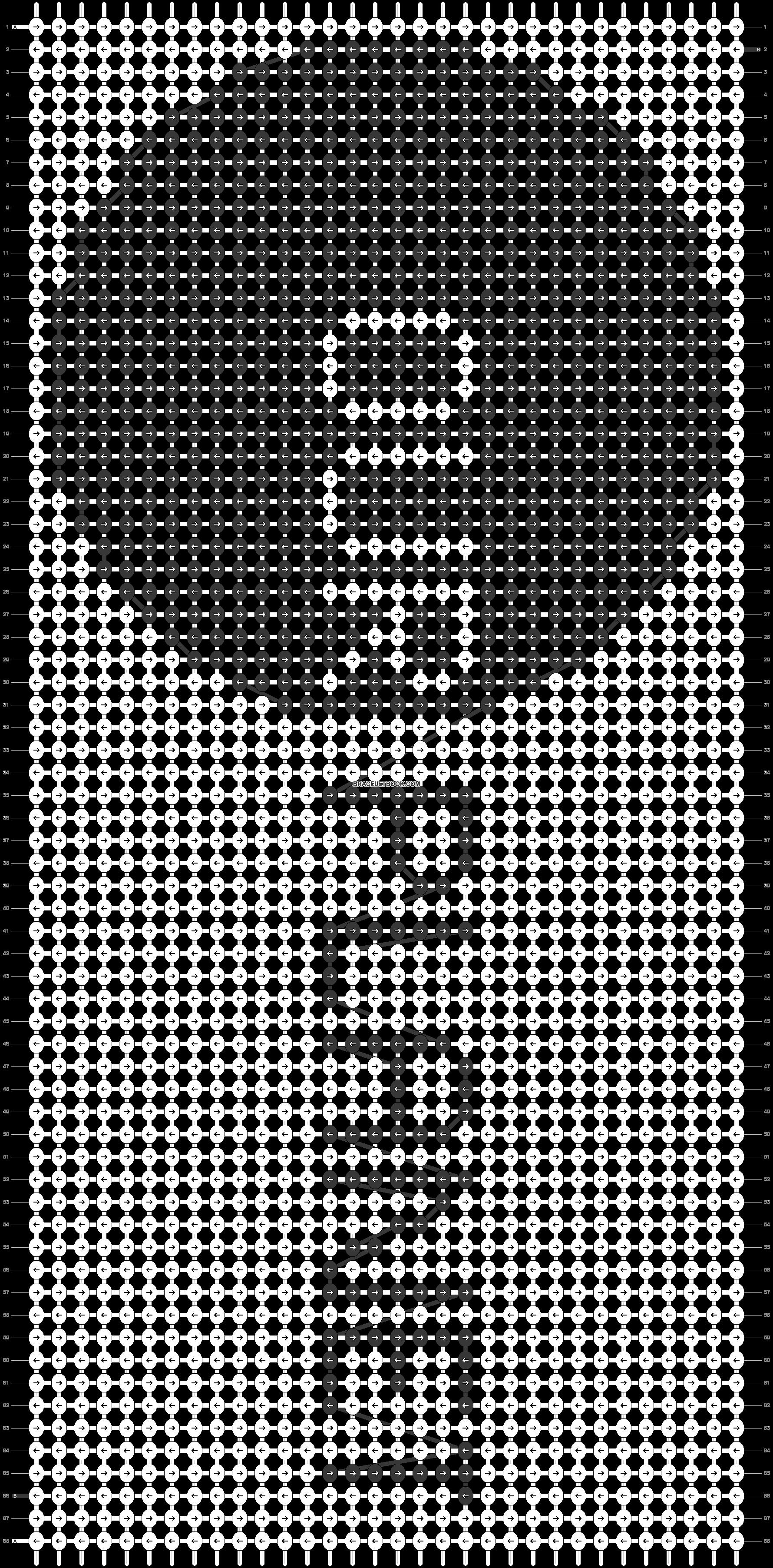 Alpha pattern #45801 pattern