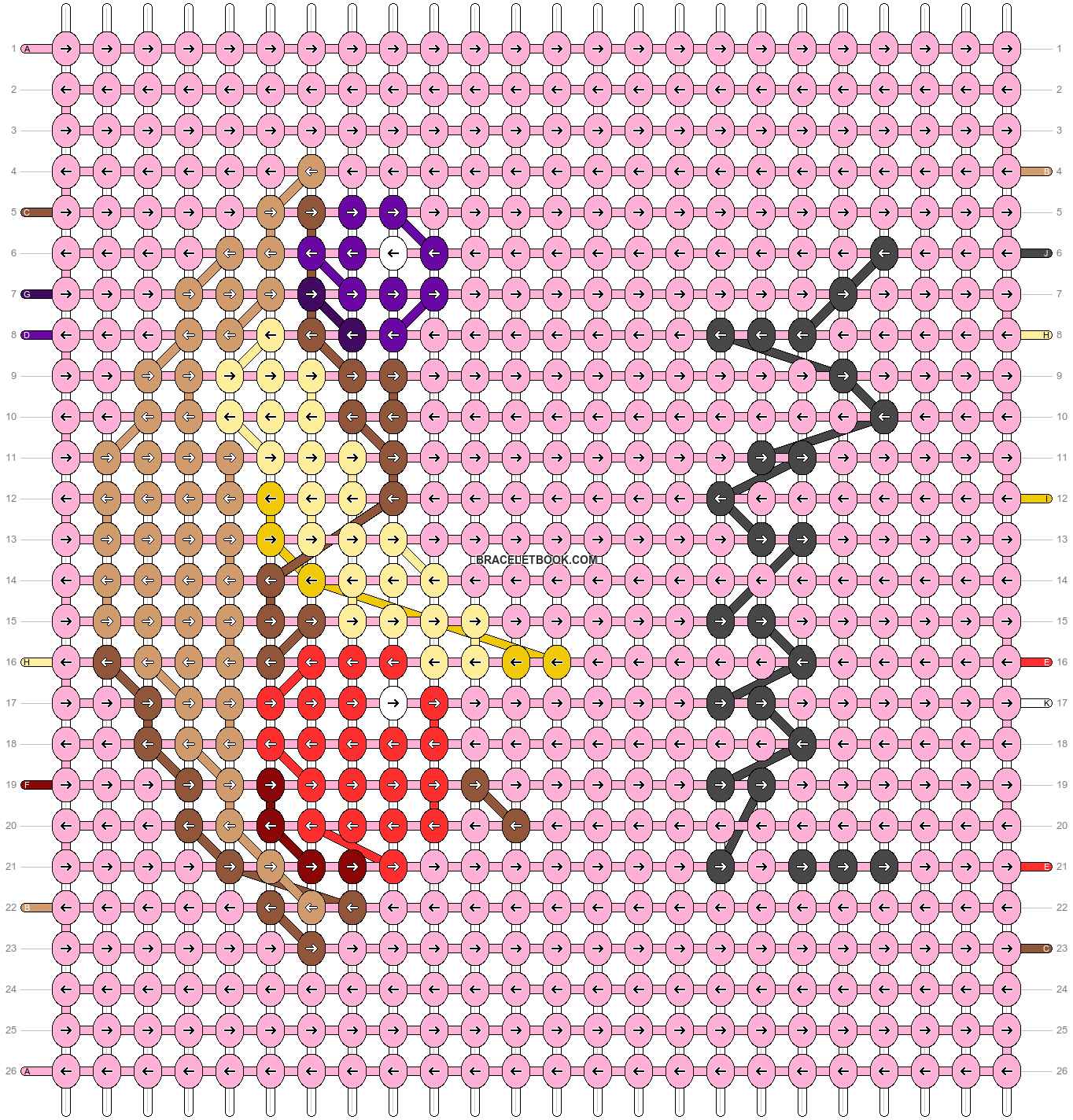 Alpha pattern #45810 pattern