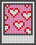 Alpha pattern #45816