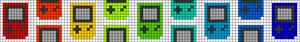 Alpha pattern #45822