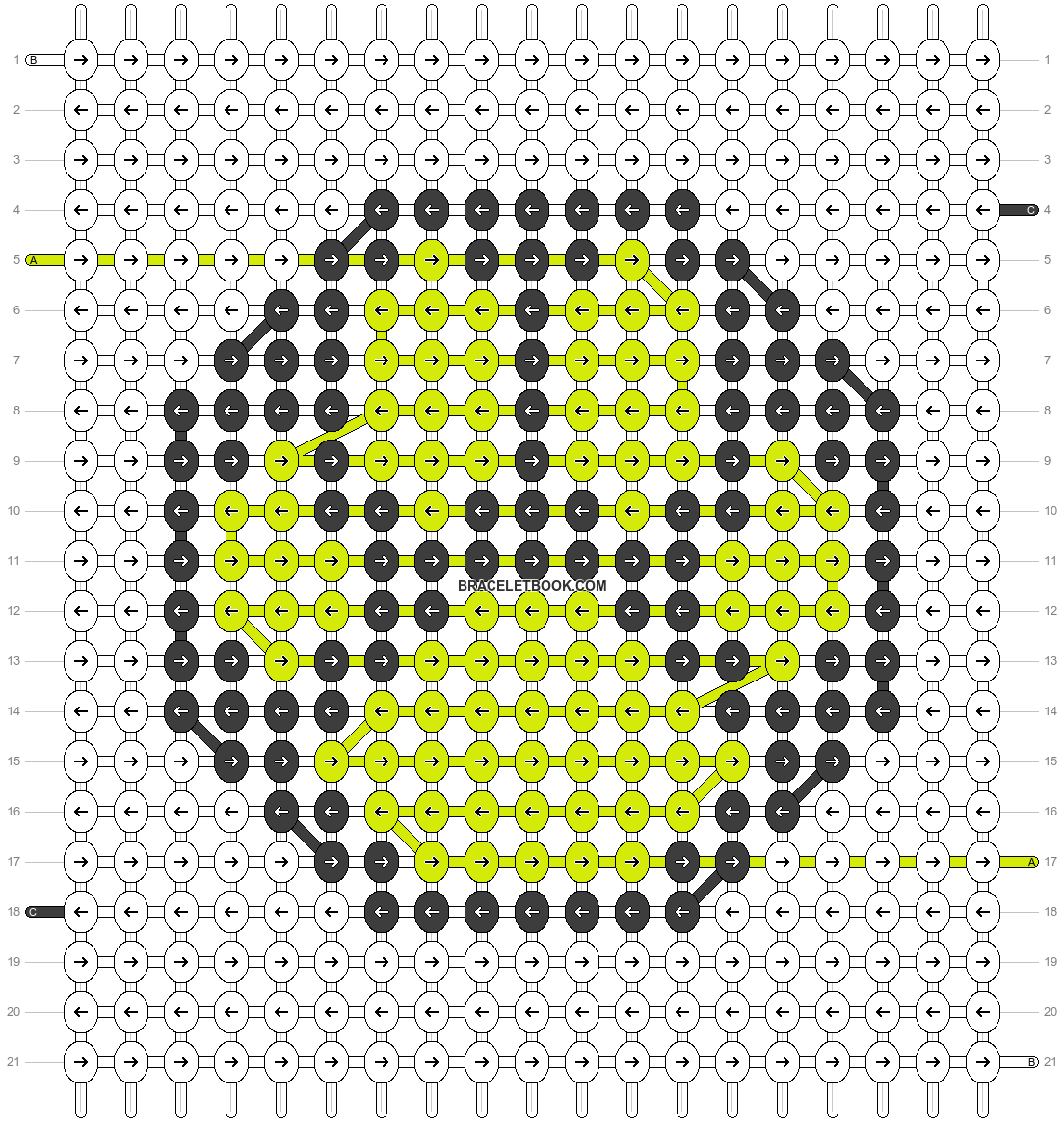 Alpha pattern #45825 pattern