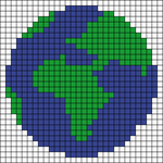 Alpha pattern #45834