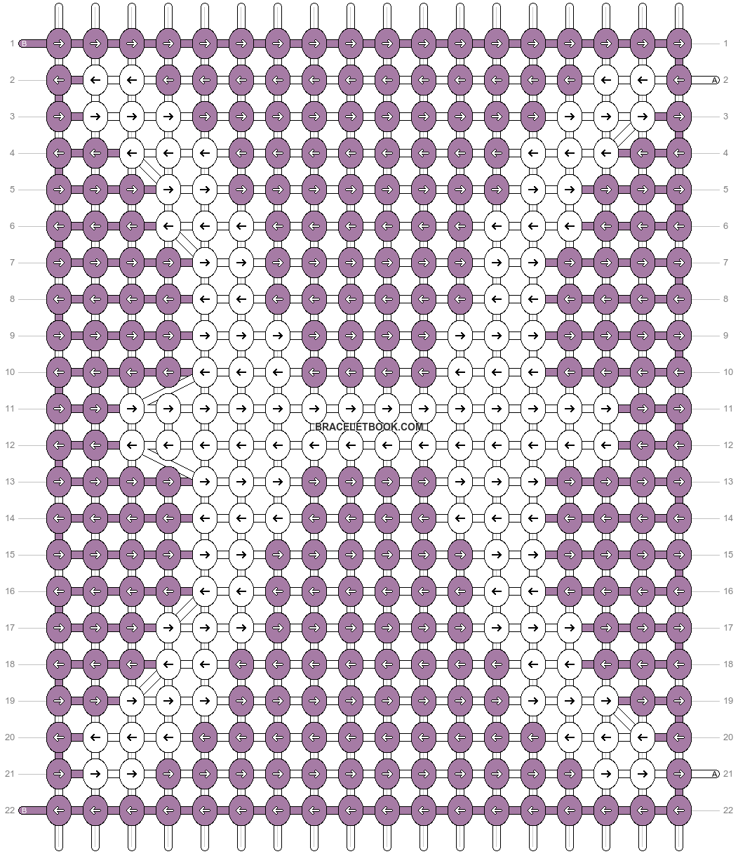 Alpha pattern #45841 pattern