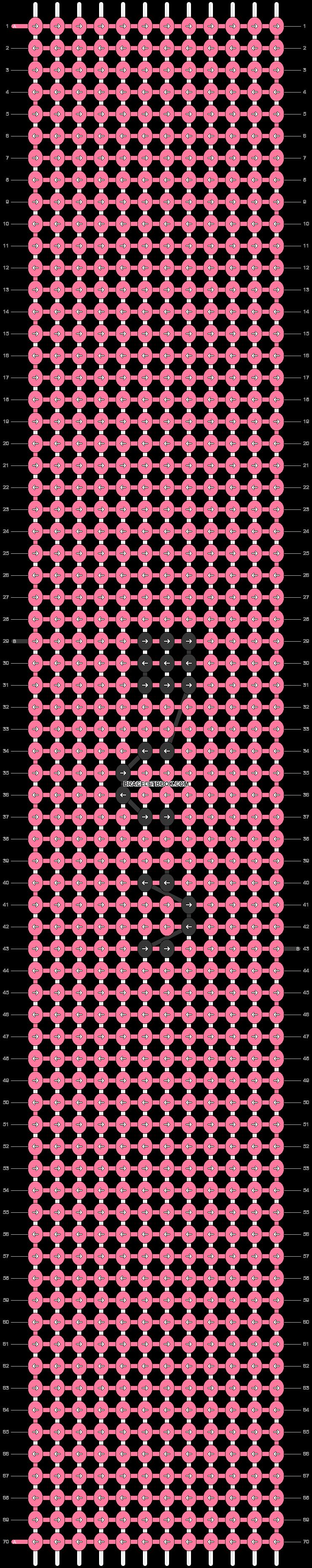 Alpha pattern #45846 pattern