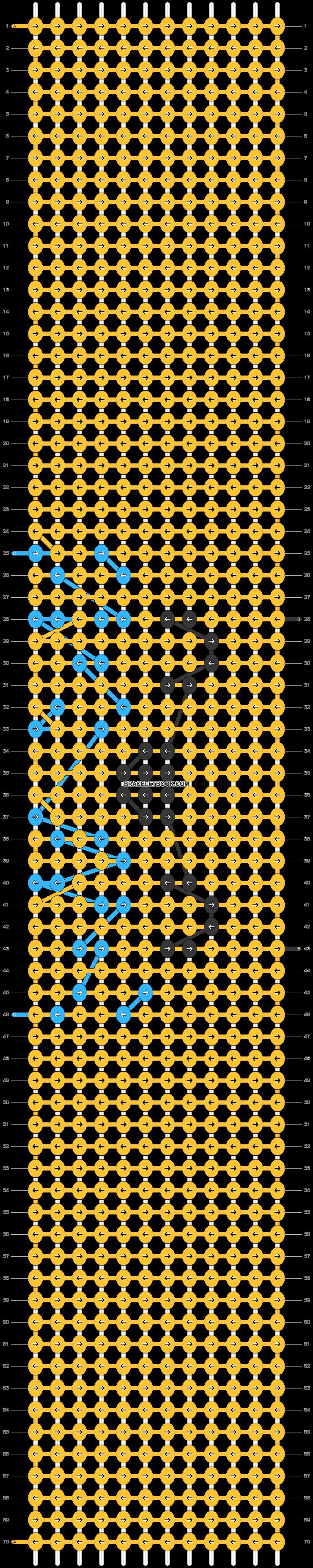Alpha pattern #45848 pattern
