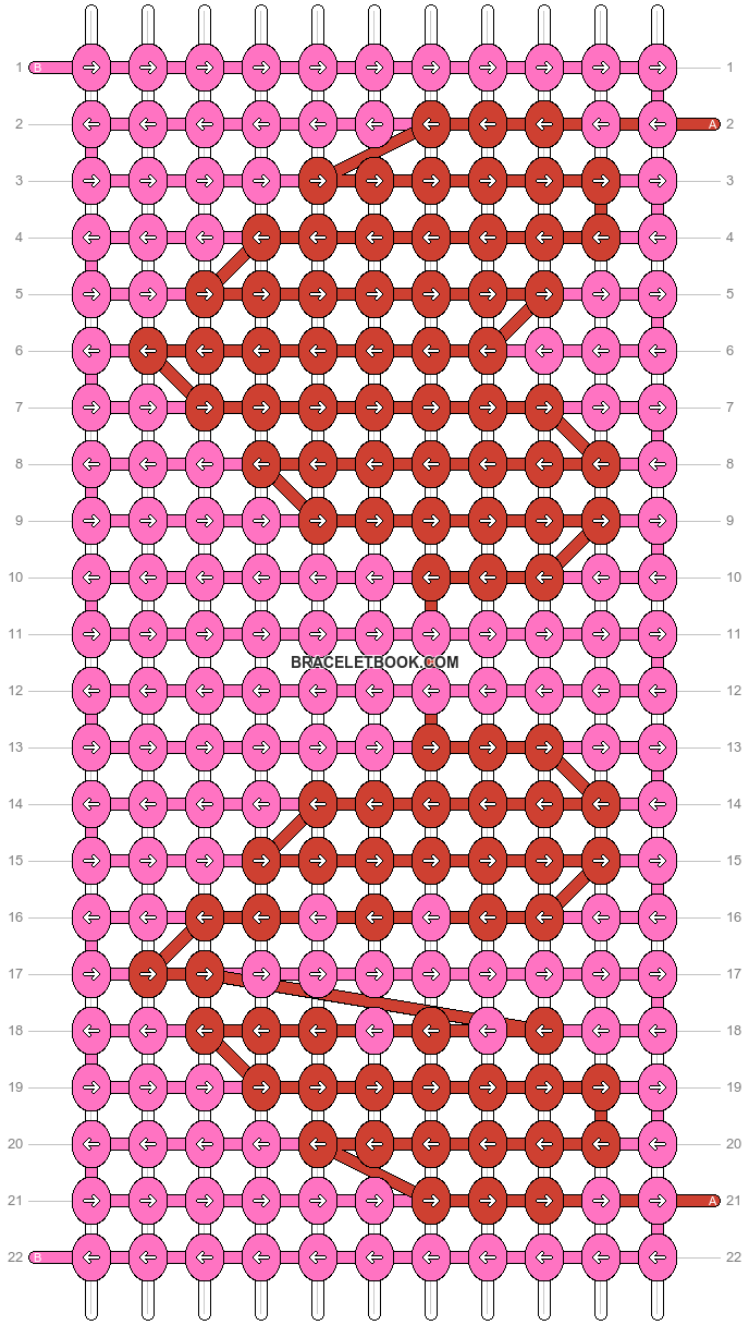 Alpha pattern #45851 pattern