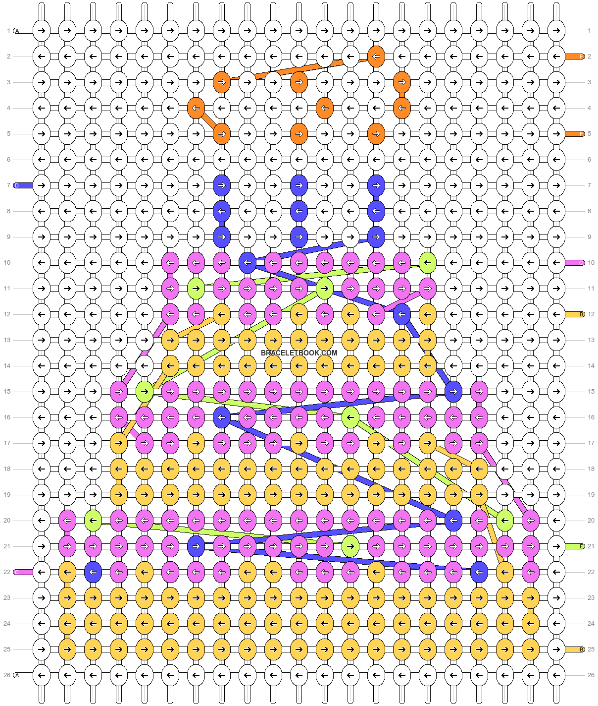 Alpha pattern #45856 pattern