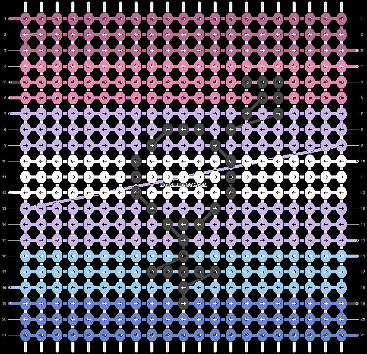 Alpha pattern #45860 pattern